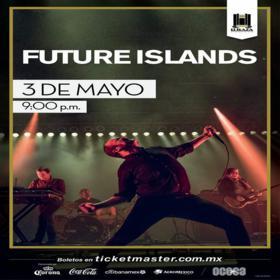 Future Islands en México