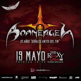 Boanerges en The Roxy
