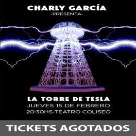 Charly García en el Teatro Coliseo