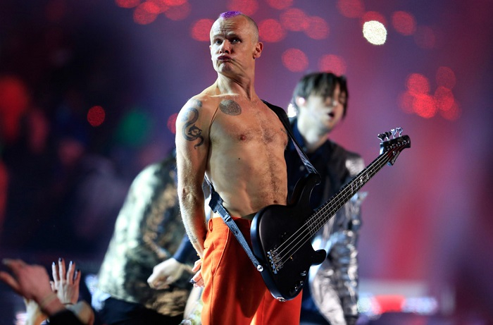 Red Hot Chili Peppers trabaja en su nuevo álbum