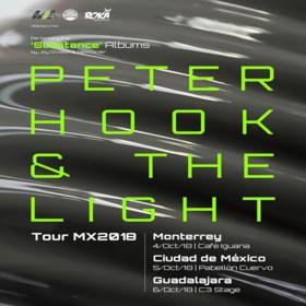 Peter Hook en Ciudad de México