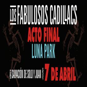 Los Fabullosos Cadillacs en el Luna Park