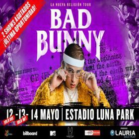 Bad Bunny en el Luna Park