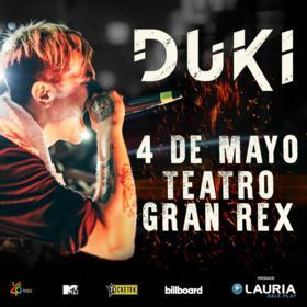 Duki en el Teatro Gran Rex