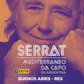 Joan Manuel Serrat en el Gran Rex