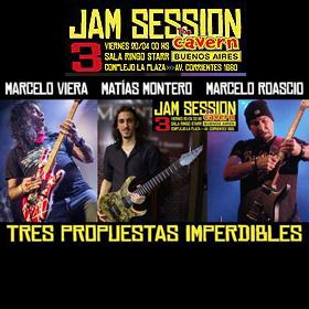 Jam Session 3: Viera + Montero + Roascio en The Cavern