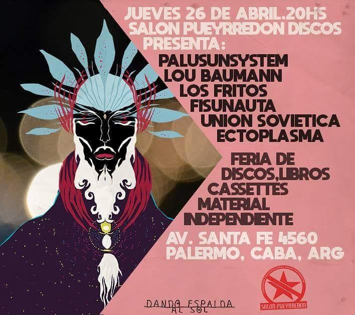 Salon Pueyrredon Discos presenta: Noche Nueva