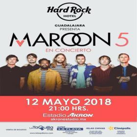 Maroon 5 en Guadalajara