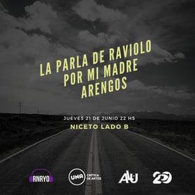 La Parla de Raviolo, Por Mi Madre y Arengos en Niceto lado B