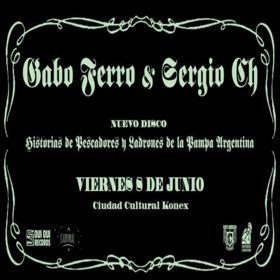 Gabo Ferro & Sergio Ch. en Ciudad Cultural Konex