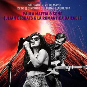 Paula Maffía y Julián Desbats