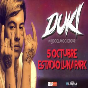 Duki en el Luna Park