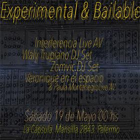 Experimental & Bailable en La Cápsula