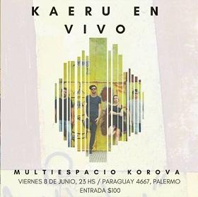 Kaeru + Neo-soul en Korova