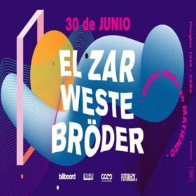 El Zar, Bröder y Weste en Club Cultural Matienzo