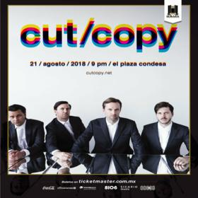 Cut Copy en México