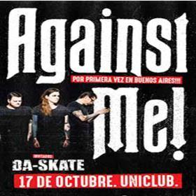 Against Me! en Argentina