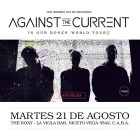 Against The Current en Argentina