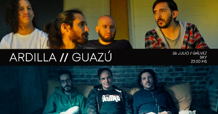 Ardilla + Guazú en Gálvez (Santa Fe)
