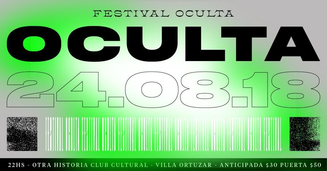 Festival Oculta #1 en Otra Historia Club Cultural