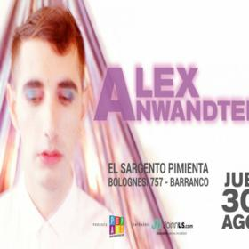 Alex Anwandter en Lima