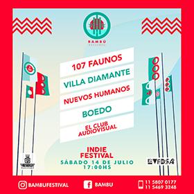 Bambú Indie Festival en M.O.D.