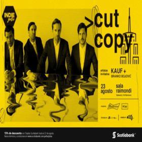 Cut Copy en Perú