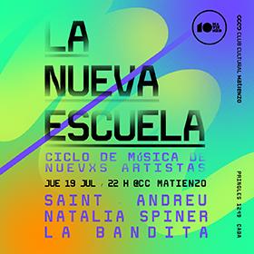 Saint-Andreu + Natalia Spiner + La Bandita en CC Matienzo