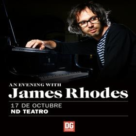 James Rhodes en Argentina - CANCELADO