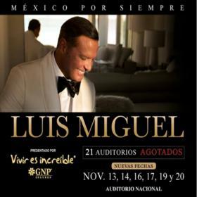 Luis Miguel en México