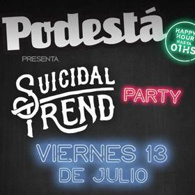 Suicidal Trend Party: Un Ciervo + Los Cebados en Podestá