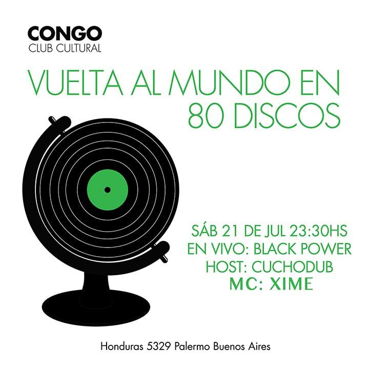 Black Power & MC Xime en Congo Club Cultural