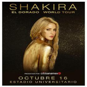 Shakira en Monterrey