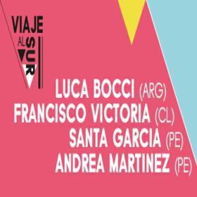 Luca Bocci, Francisco Victoria, Santa García y Andrea Martinez en Perú