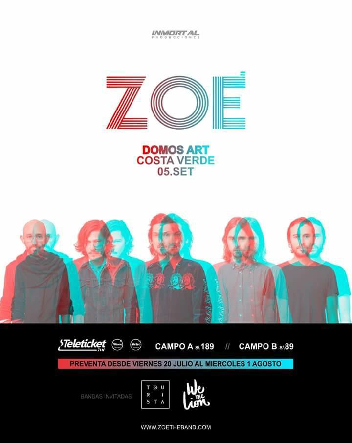 Zoé en Perú