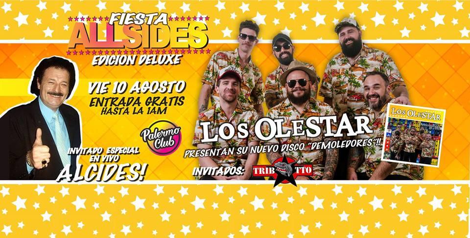 Los Olestar en Palermo Club