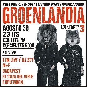 GROENLANDIA Rock Party 3 en Club V