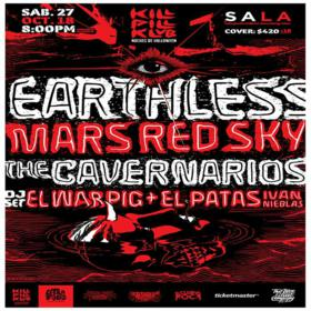 Earthless y Mars Red Sky en México