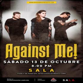 Against Me! en México