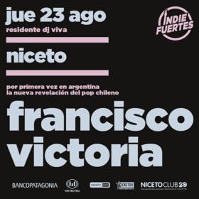 Francisco Victoria en Niceto Club