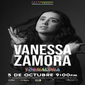 Vanessa Zamora en México