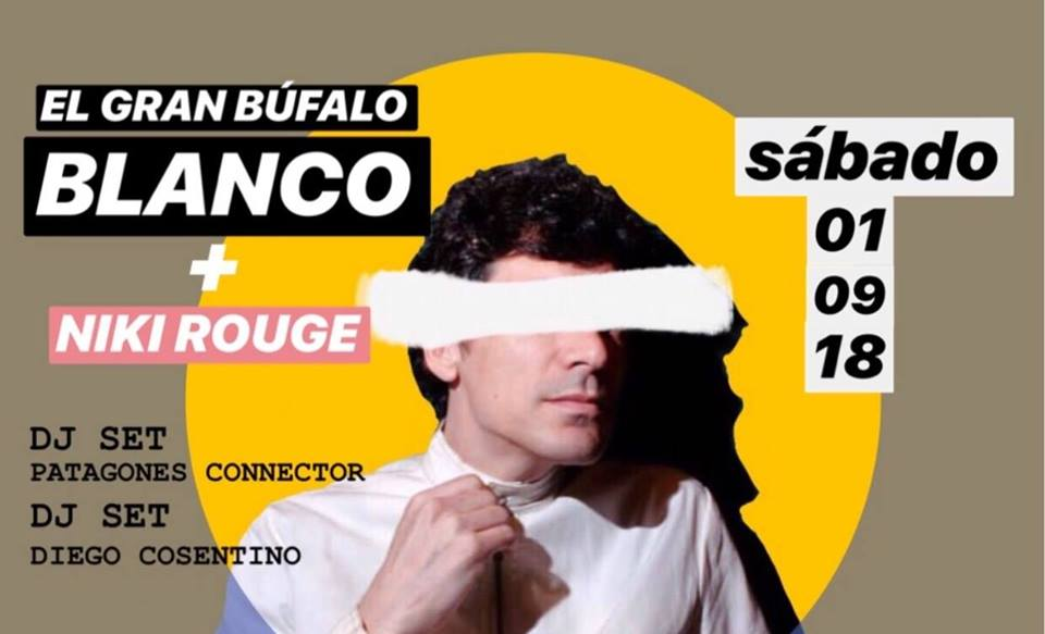 El Gran Bufalo Blanco + Niki Rouge en Lucille