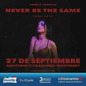 Camila Cabello en Monterrey