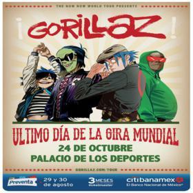 Gorillaz en México