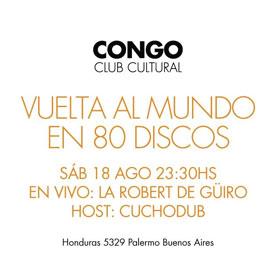 La Robert de Güiro en Congo Club Cultural