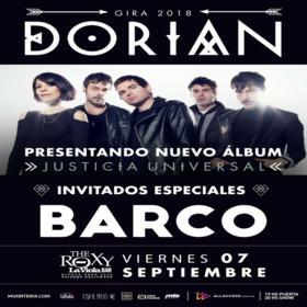 Dorian + Barco en The Roxy la Viola Bar