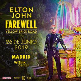 Elton John en Madrid
