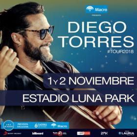 Diego Torres en el Luna Park