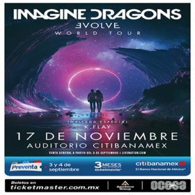 Imagine Dragons en Monterrey