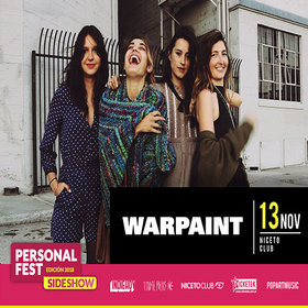 Warpaint en Niceto Club